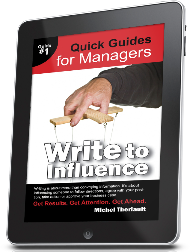 Write To Influence - Quick Guide #1 (ebooks)