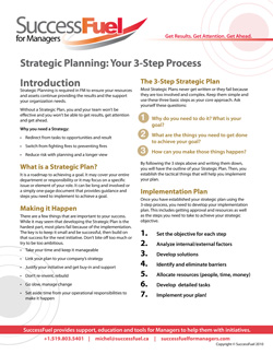 One Page Strategic Planning Guide
