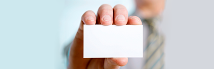 Ditch the Business Cards: Create Info Cards That Make Your Company Stand Out